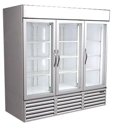 Used Three Door Cooler