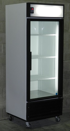 Used Single Glass Door Cooler