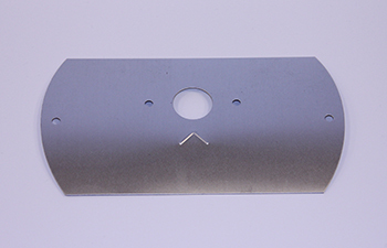 TEMP CONTROL COVER, GDM/T-'S CLEAR (NO HOLE FOR SWITCH)