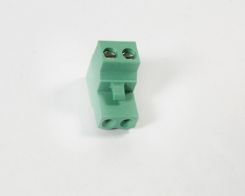 CONNECTOR, OMC1F02001 2 POLE LAE GREEN (930201,930203)