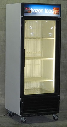 Used One Door Freezer Merchandiser