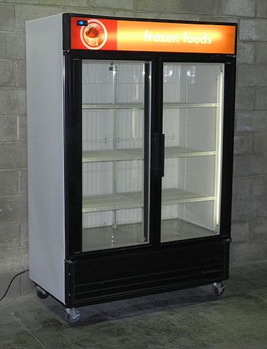 Used Glass Door Display Freezer