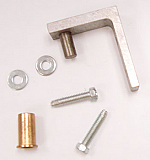 HINGE KIT - GDM-10/12/15 - TOP - LEFT HAND